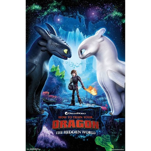 """34""""x23"""" How To Train Your Dragon 3 Key Art Unframed Wall Poster Print - Trends International - image 1 of 2"""