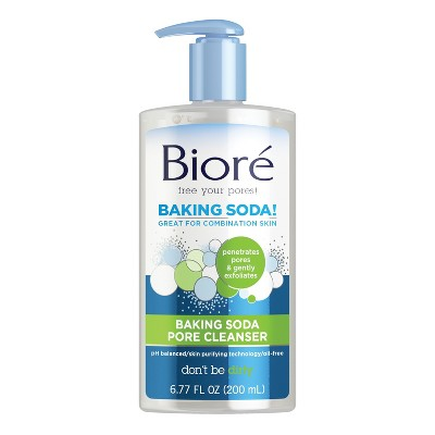 baking soda facial cleanser