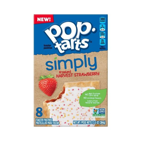 Pop-Tarts Frosted Harvest Strawberry Pastries - 8ct / 13.5oz - image 1 of 6