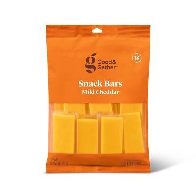 Mild Cheddar Cheese Snack Bars - 9oz/12ct - Good & Gather™