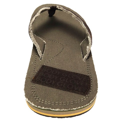 0bd460a3d7a Men s Body Glove Bridgeport Flip Flop Sandals - Khaki   Target
