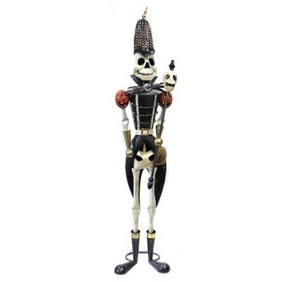 """Halloween 63.0"""" Skeleton Soldier Indoor Outdoor Bones  -  Decorative Figurines"""