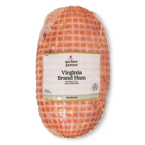 Virginia Brand Ham - Price Per lb. - Archer Farms™ - image 1 of 2