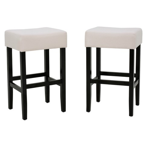 2ct Lopez Counter Height Barstool Set - Christopher Knight Home - image 1 of 4