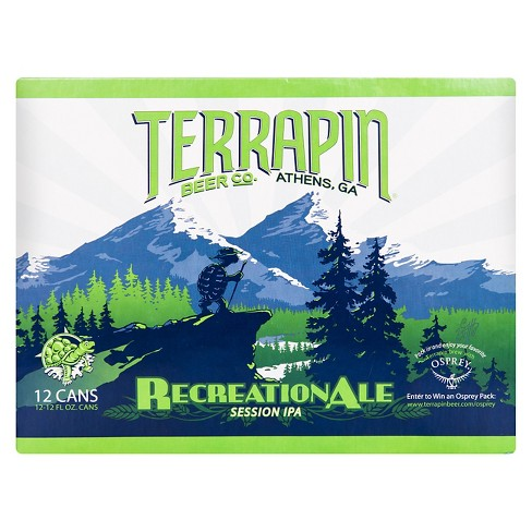 Terrapin Recreation Ale Session IPA Beer - 12pk/12 fl oz Cans - image 1 of 1