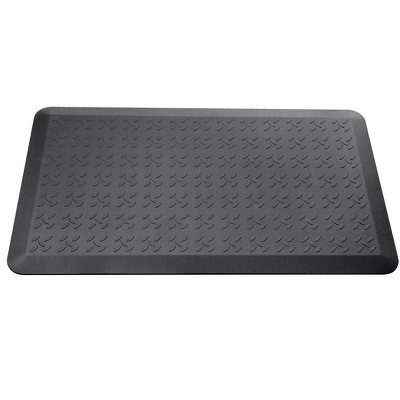 Monoprice Non-slip Anti-Fatigue Padded Mat - Black - Large | Comfort Soft 21.7 x 36.2 x 0.6 Inches, Non-Toxic, Pthlalate-free - Workstream Collection