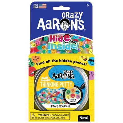 Crazy Aaron's Mixed Emotions Hide Inside Thinking Putty