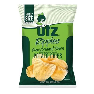 Utz Sour Cream & Onion Potato Chips - 9oz