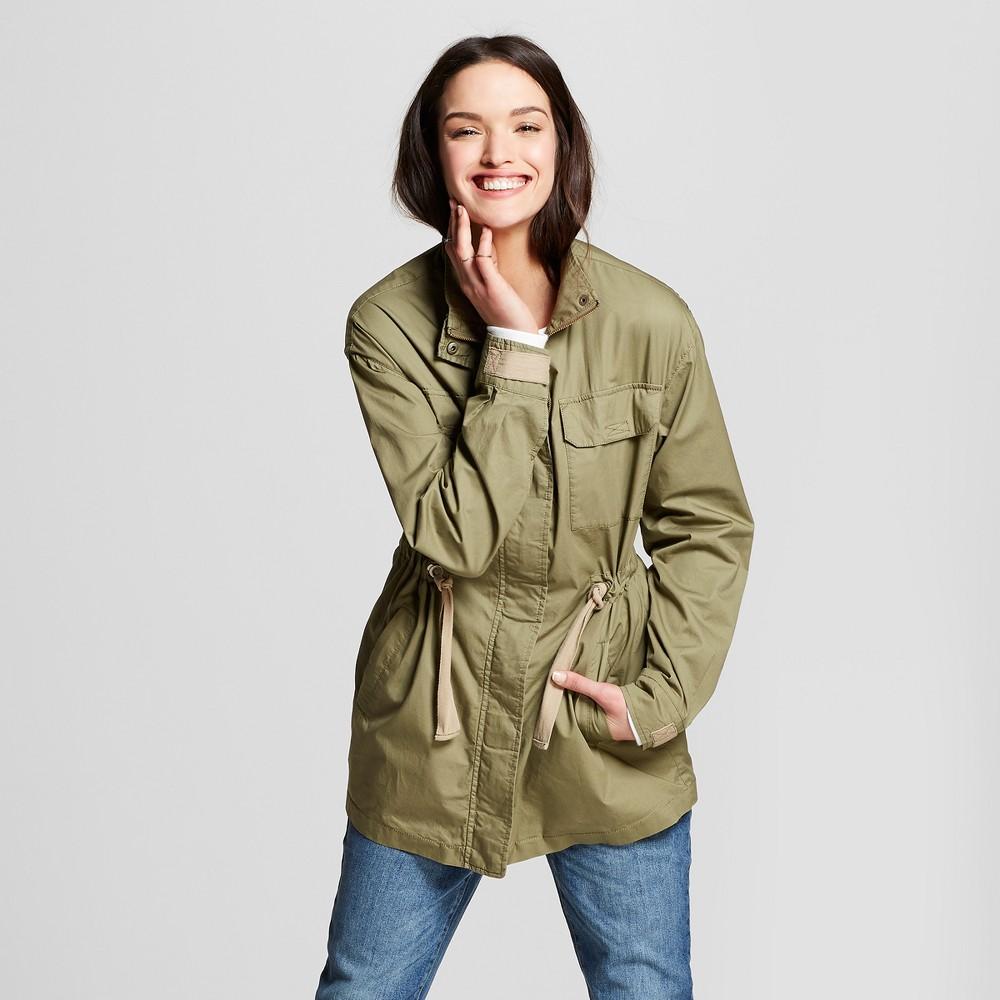 Women's Military Jacket - Universal Thread Olive M, Green
