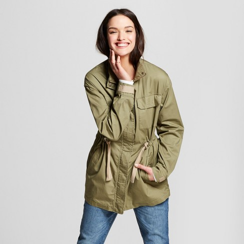 Women's Military Jacket - Universal Thread™ Olive - image 1 of 3