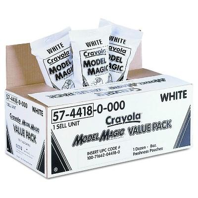 Crayola Model Magic Modeling Compound 96oz White
