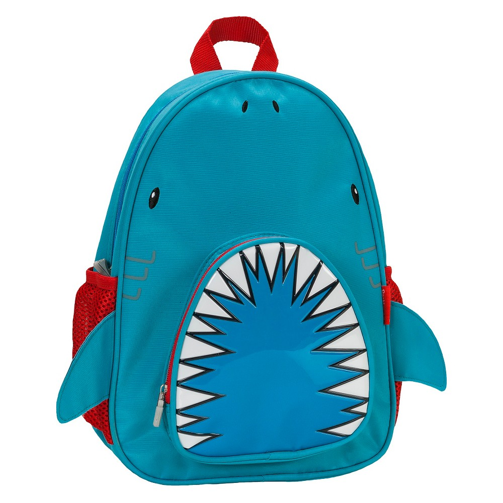 Rockland 12.5 Junior My First Backpack - Shark, Blue