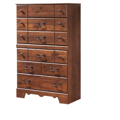 Dresser Warm Cinnamon Signature Design By Ashley Target