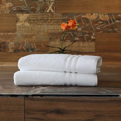 2pk Denzi Turkish Bath Towel White - Linum Home Textiles