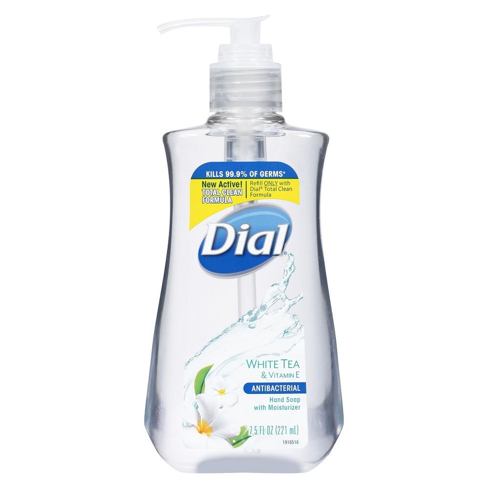 Dial White Tea Liquid Hand Soap Gel - 7.5oz