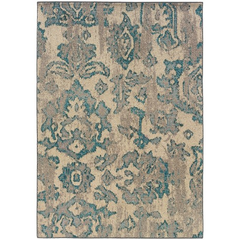 Antique Scrollwork Area Rug - image 1 of 3