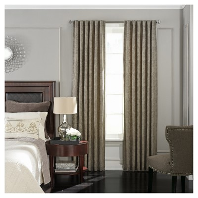 "Germaine Blackout Curtain Panel Tan (52""x63"") - Beautyrest"