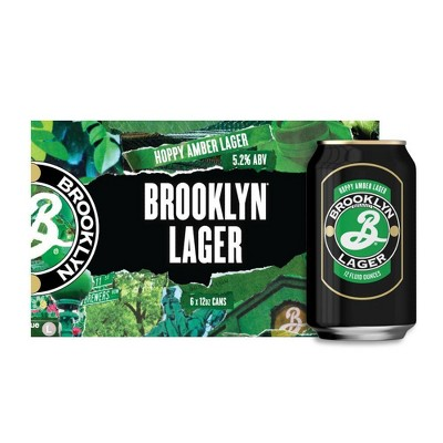 Brooklyn Lager Beer - 6pk/12 fl oz Cans