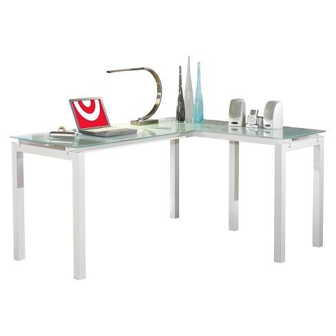 Baraga L Desk White Signature Design By Ashley Target