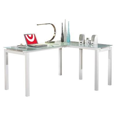 Baraga L Desk White   Signature Design By Ashley