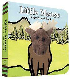 Little Moose: Finger Puppet Book - (Board_book)