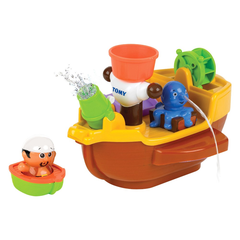 Toomies Pirate Bath Ship, Multi-Colored
