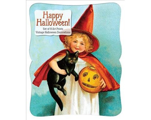 Happy Halloween - Vintage Decoration Print Set -  (Poster) - image 1 of 1