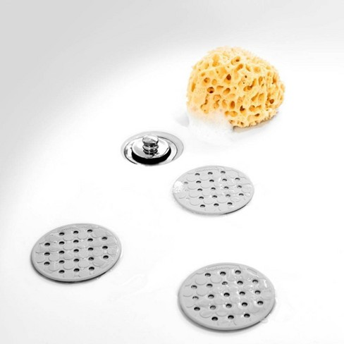 Made Smart Non-slip Appliques & Mats Solid Nonslip Soft Grip Bathtub And Shower Mats Gray Bath