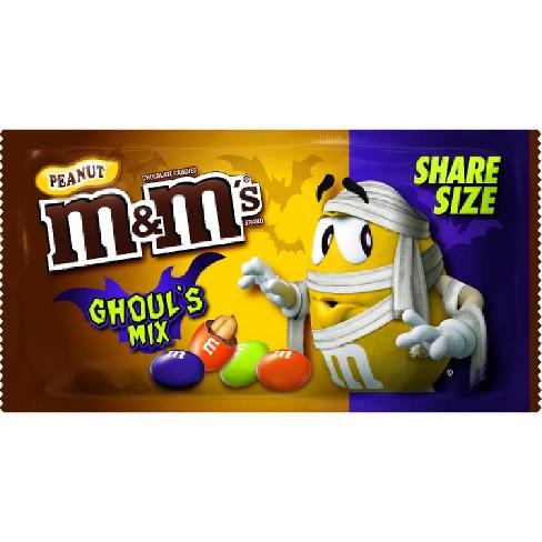 mms peanut chocolates halloween ghouls mix 327oz
