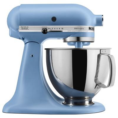 KitchenAid 5qt Artisan Series Tilt-Head Stand Mixer Matte Vintage Blue - KSM150PSVB