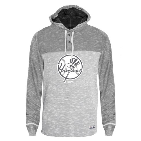 super popular 37c21 b003c MLB New York Yankees Men's Clubhouse Tonal Henley Hoodie