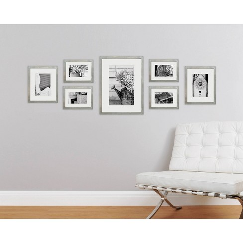 Gallery Perfect 8 X 105 X 74 X 6 7pc Photo Wall Gallery