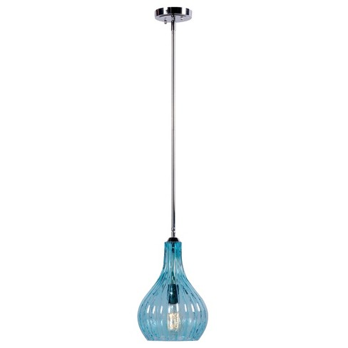 Kenroy Darcy 1 Light Pendant - Blue - image 1 of 1