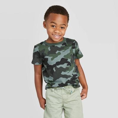 Toddler Boys' Crew Neck Short Sleeve T-Shirt - Cat & Jack™