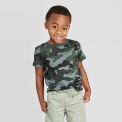 Toddler Boys' Short Sleeve Crew T-Shirt - Cat & Jack™ Camouflage