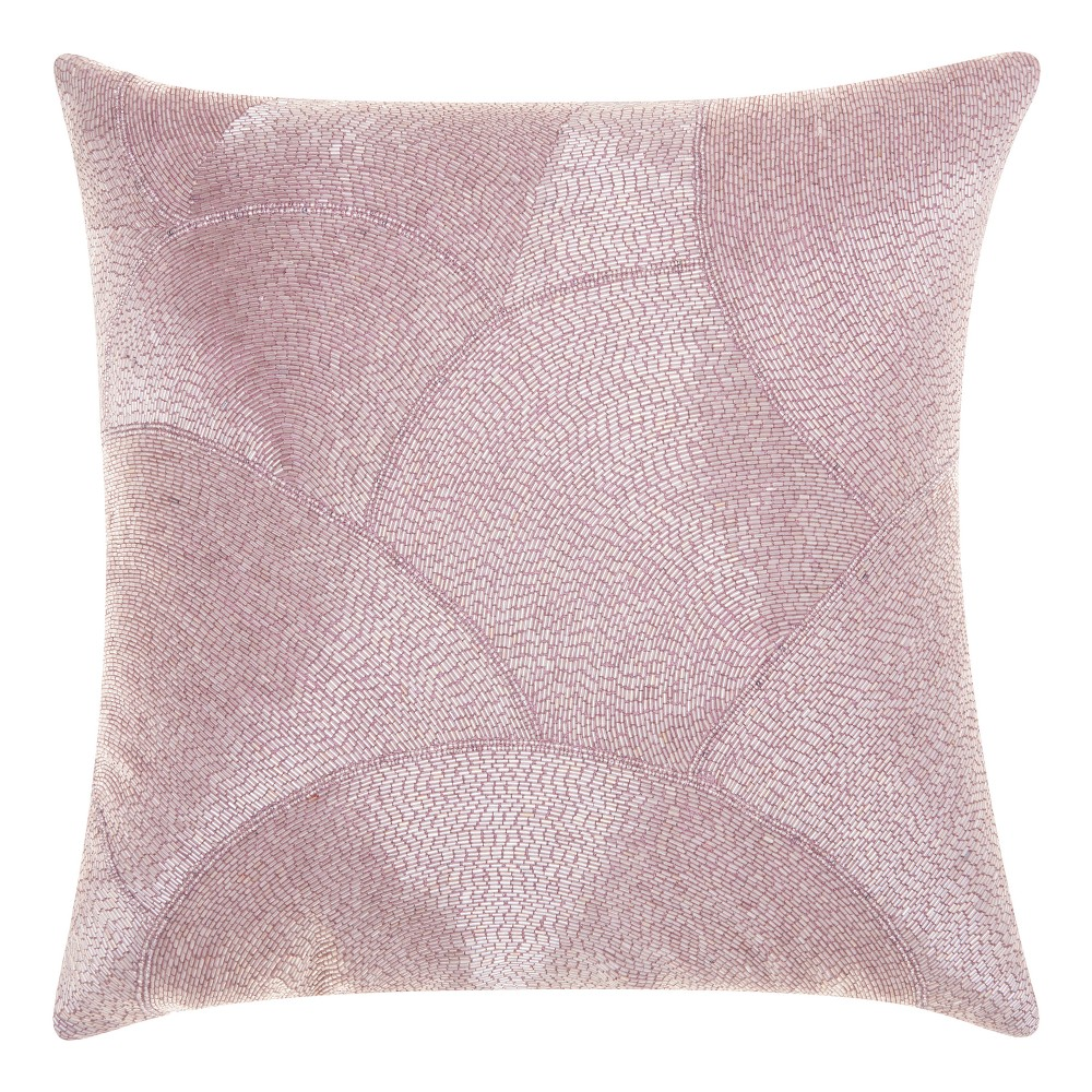 Image of Lavender Mosaic Throw Pillow - Mina Victory