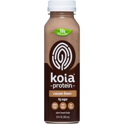 Koia Cacao Bean Plant Powered Vegan Nutrition Drink - 12 fl oz