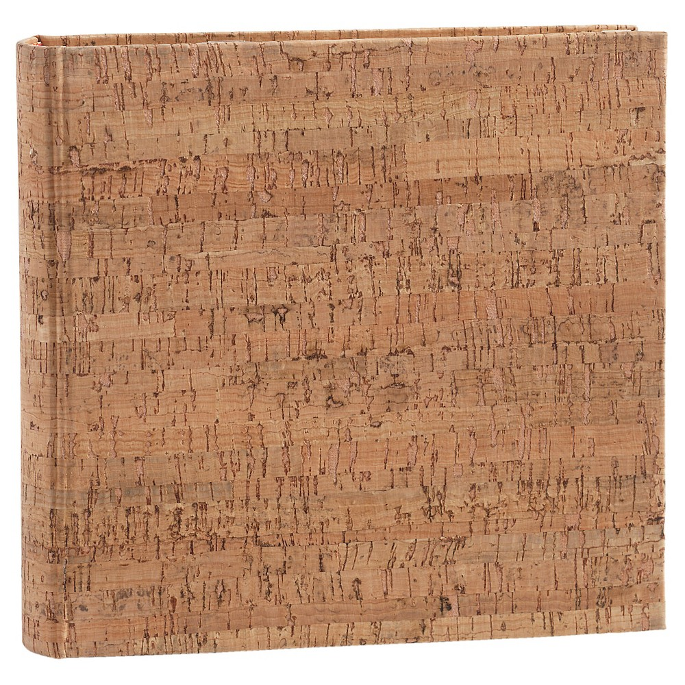 "Image of ""4""""x6"""" Cork Photo Album, Brown"""