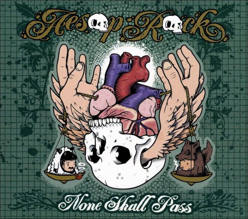 Aesop rock - None shall pass (CD) - image 1 of 1