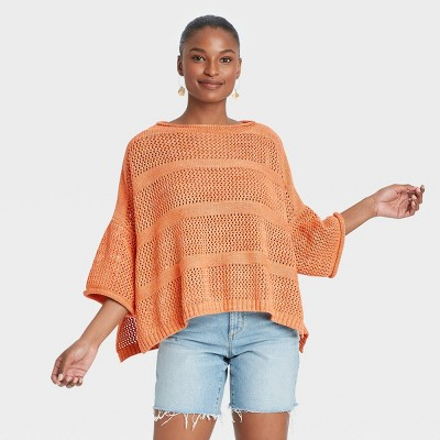 Women's Knit Pullover - Universal Thread™ Tan