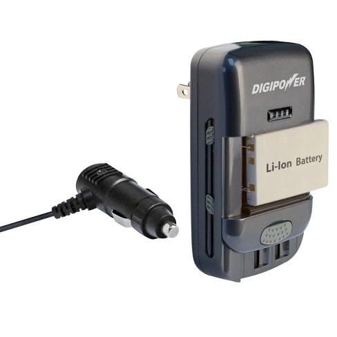 DigiPower Universal Battery Charger - Black (TC-U450) - image 1 of 4