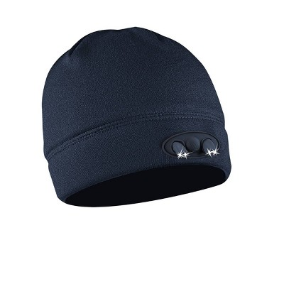 POWERCAP Adult 4 LED Compression Fleece Cap - Navy