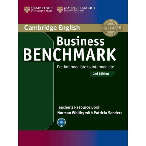 Business Benchmark Pre-intermediate to Intermediate - 2 Edition by  Norman Whitby (Paperback) - image 1 of 1