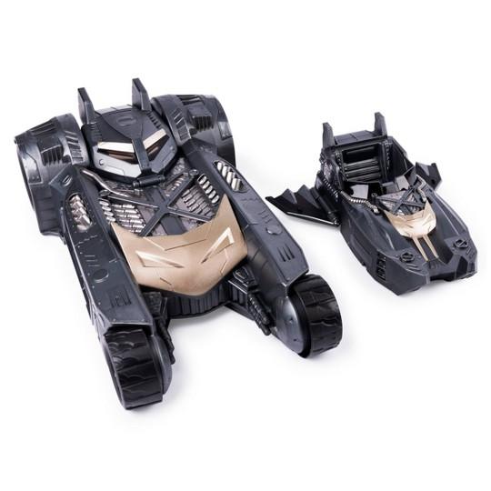 Batman Batmobile and Batboat 2-in-1 Transforming Vehicle image number null