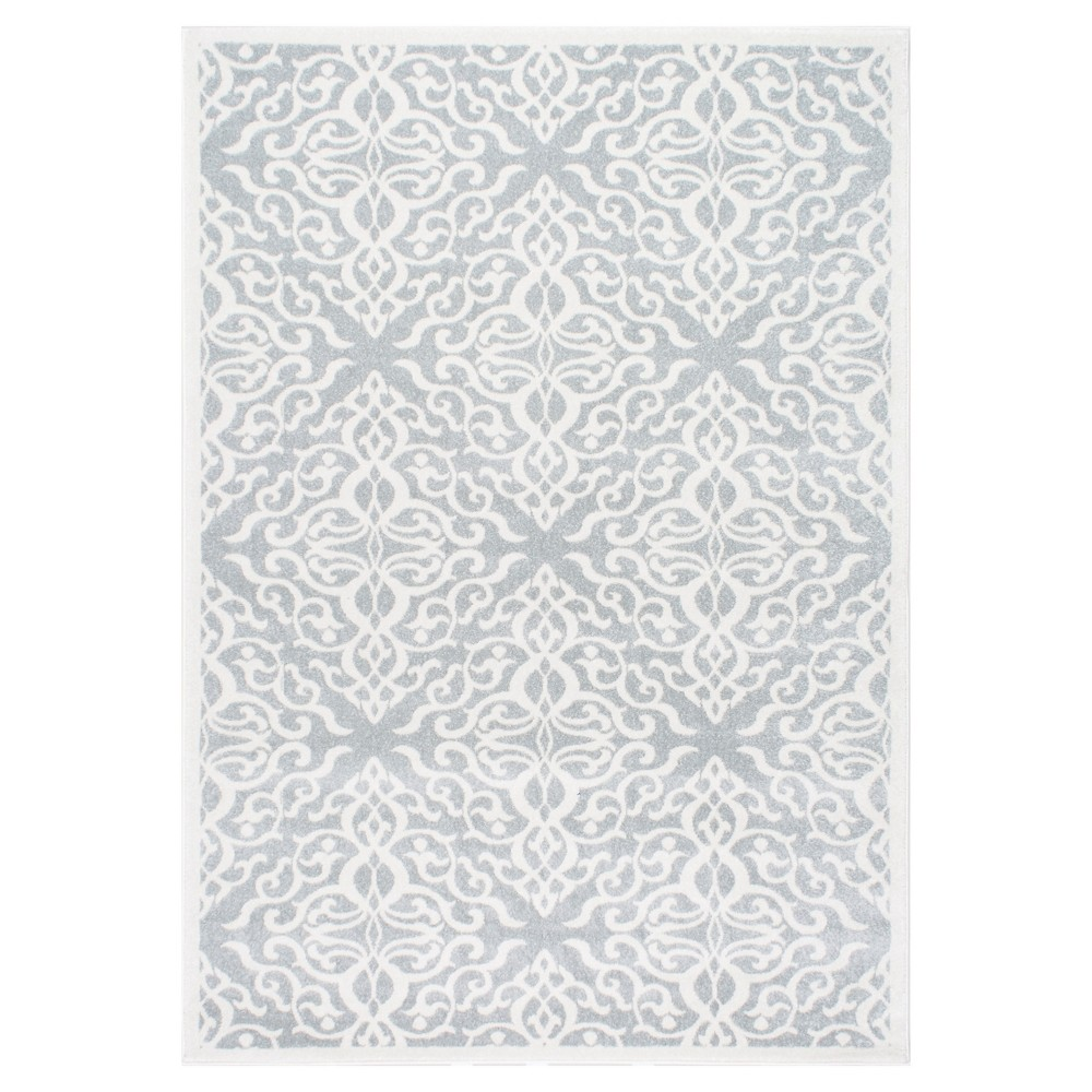 Sterling Gray Solid Loomed Area Rug - (9'x12') - nuLOOM, Blue