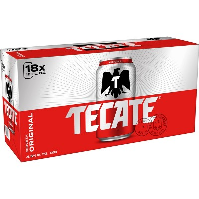 Tecate Original Mexican Lager Beer - 18pk/12 fl oz Cans