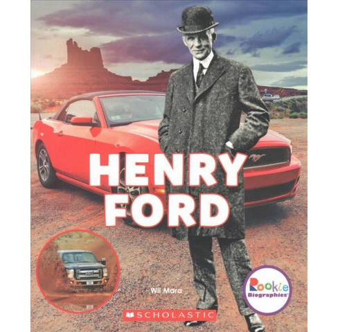 Henry Ford : Automotive Innovator (Paperback) (Wil Mara) - image 1 of 1