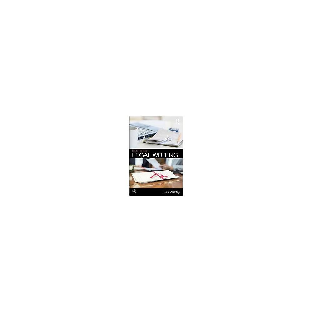 Legal Writing (Revised) (Paperback) (Lisa Webley)