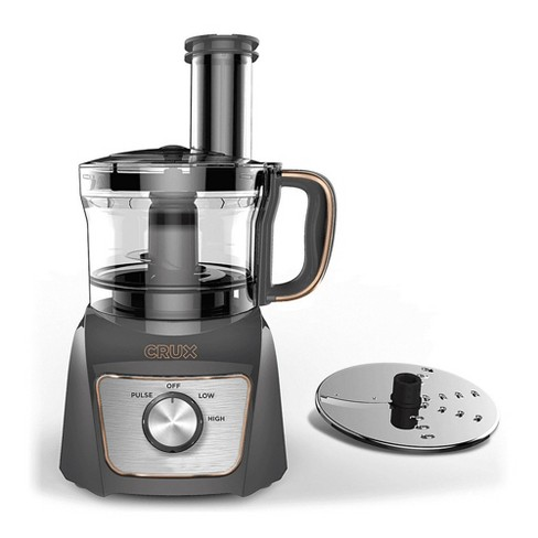 CRUX 8-Cup Food Processor - Gray - image 1 of 3