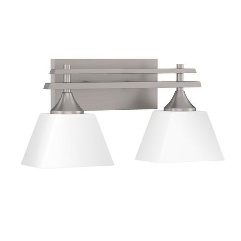 """Park Harbor PHVL2232 McBryde 2 Light 17-1/8"""" Wide Bathroom Vanity Light - image 1 of 1"""